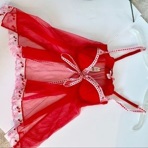Victoria's Secret NWT Tie Front Nighty